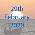 Marine conservation expediton date in March 2020