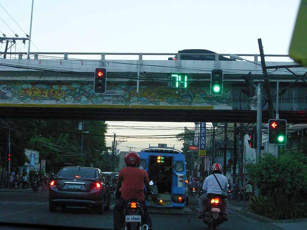 street scene in Cebu city