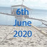 Marine conservation expediton date in June 2020