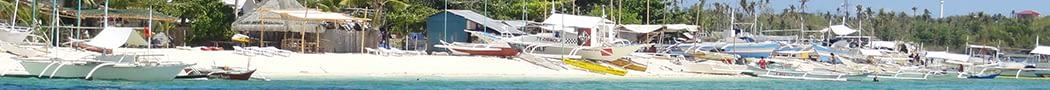 bangkas-on-beach