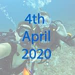 Marine conservation expediton date in April 2020
