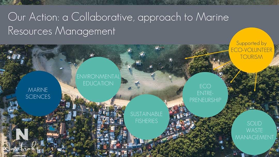 Our action involves collaboration amongst key stakehodlder groups to effects meaningful ocean conservation