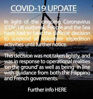 COVID-19 Volunteer Expedition impact update information