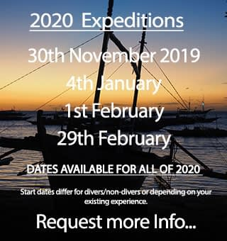 Expedition dates for the remainder of 2019 and into 2020 - come join us!