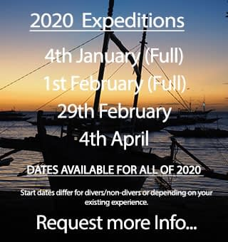 Expedition dates for the first half of 2020 with People and the Sea