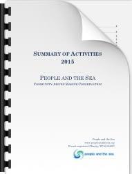 People and the Sea – Progress Update (2015 Activities)