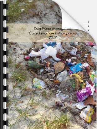 Solid Waste Management Practices on Malapascua 2017